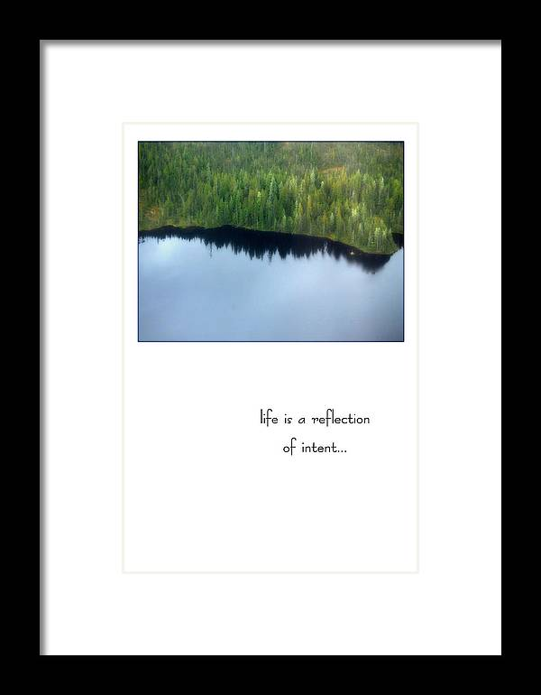 Alaska Framed Print featuring the photograph Intent by Marc Caryl