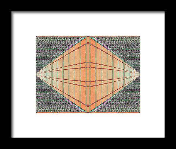 Architecture Framed Print featuring the photograph Intersect by Tim Allen