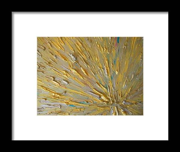 Into The Light Framed Print featuring the painting Into The Light by Dawn Hough Sebaugh