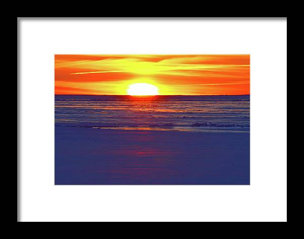 Abstract Framed Print featuring the photograph Into The Light Two by Lyle Crump