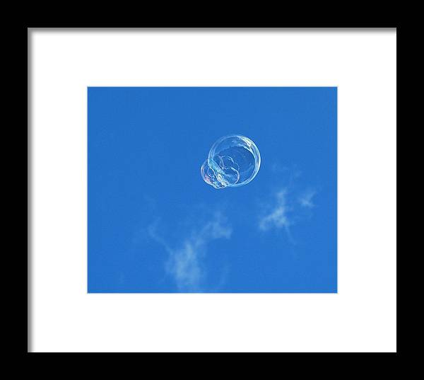 Bubles Framed Print featuring the photograph Into The Sunlight by Marilynne Bull