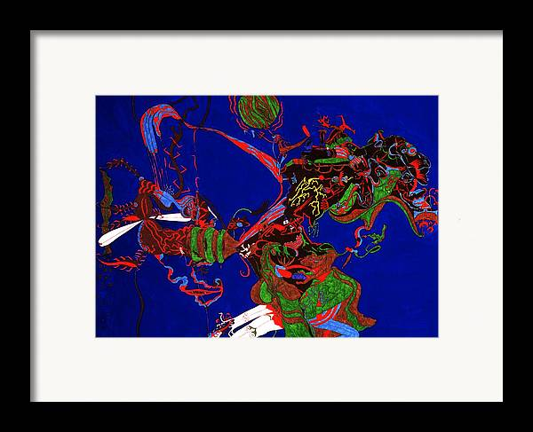 Abstract Framed Print featuring the print Intoxication by William Watson