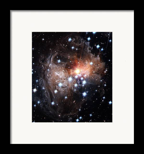 Galaxy Framed Print featuring the photograph Intricate Structures In Interstellar by ESA and nASA
