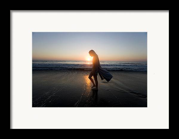 Alone Framed Print featuring the photograph Introspection by Brad Rickerby