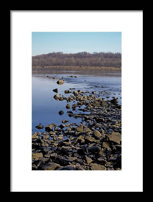 Water Framed Print featuring the photograph Inviting by John Holloway