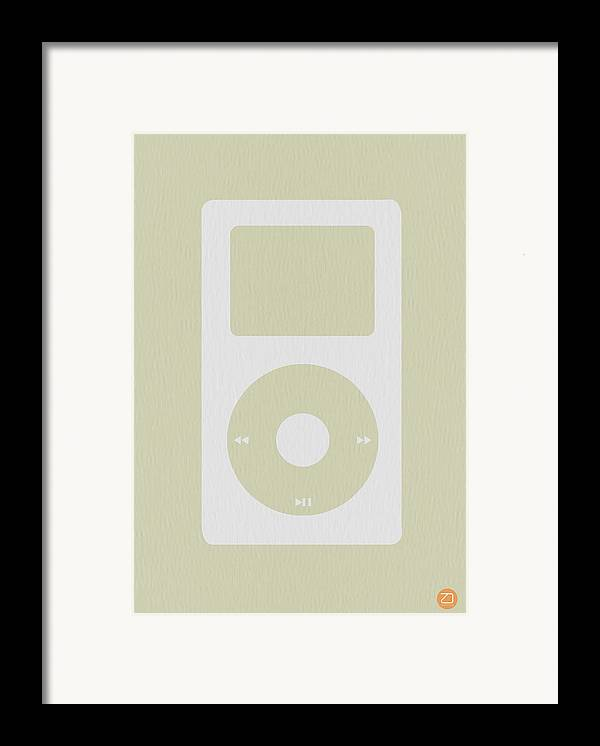 Ipod Framed Print featuring the photograph iPod by Naxart Studio