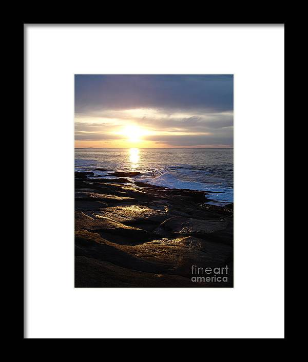 Landscape Framed Print featuring the photograph Ipswich Bay Delight by Chad Natti