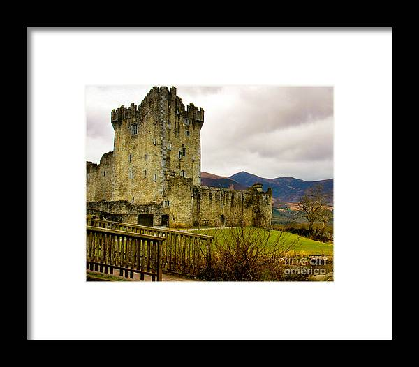 Ross Castle Framed Print featuring the photograph Ross Castle by Amy Sorvillo