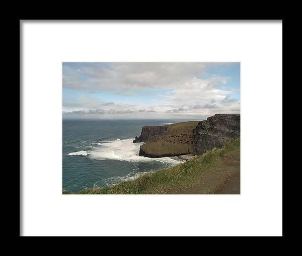 Travel Framed Print featuring the photograph Irish Coast by William Thomas