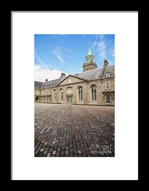 Royal Hospital Kilmainham Framed Print featuring the photograph Irish Museum Of Modern Art by Gabriela Insuratelu
