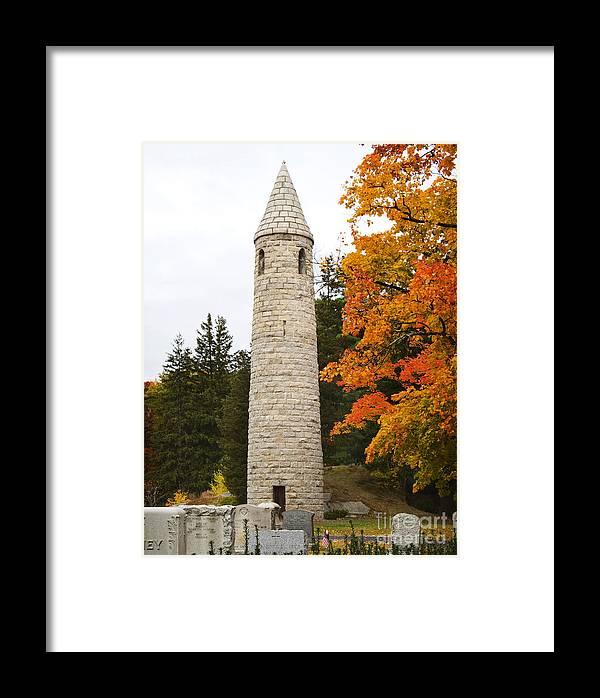 Irish Round Tower Framed Print featuring the photograph Irish Round Tower by Jim Calarese