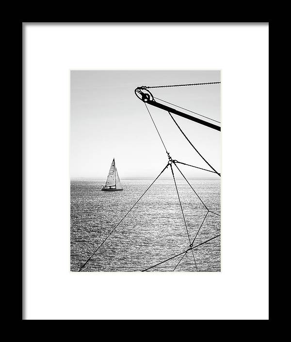 Beach Framed Print featuring the photograph Irish Seascape by Maggy Morrissey