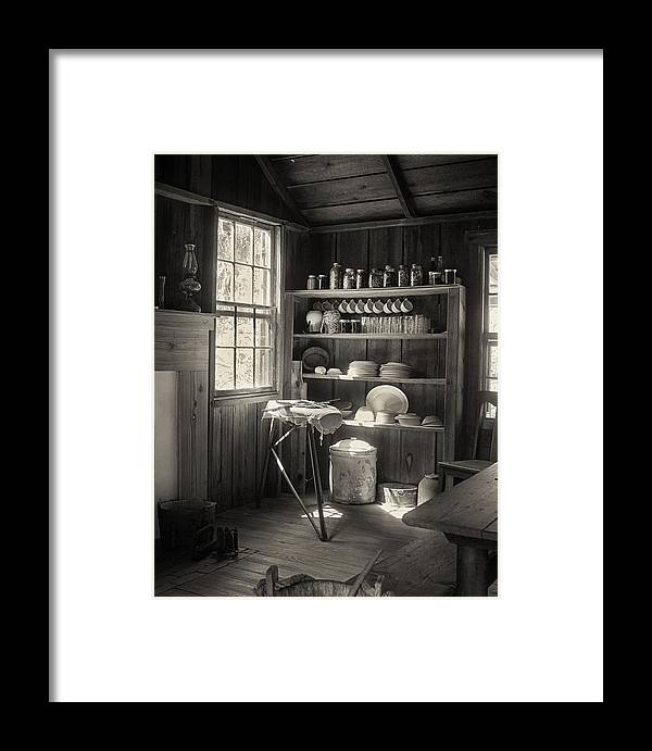 Building Framed Print featuring the photograph Ironing Time by Bruce Bouley