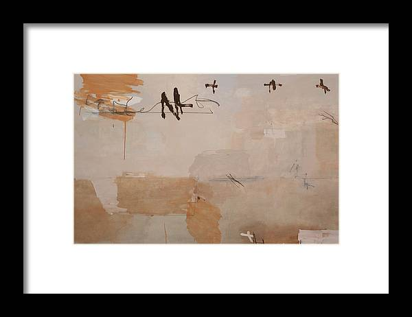 Spiritual Framed Print featuring the painting Is It This by Andrew Crane