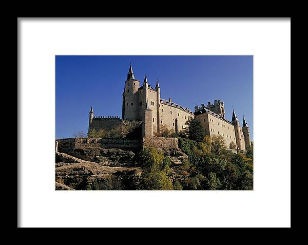 Royal Framed Print featuring the photograph Isabella's Castle In Segovia by Carl Purcell