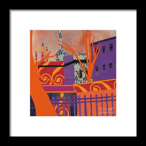 Boston Framed Print featuring the mixed media Isabella's Garden by Debra Bretton Robinson