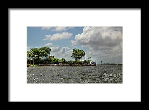 Sullivan's Island Framed Print featuring the photograph Island Crusing by Dale Powell