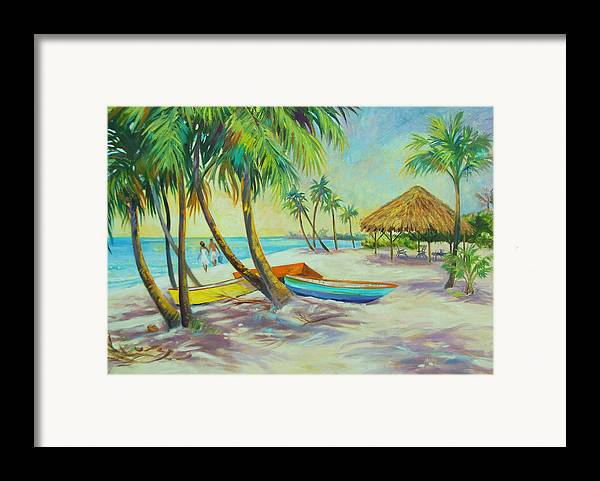 Island Framed Print featuring the painting Island Memories by Dianna Willman