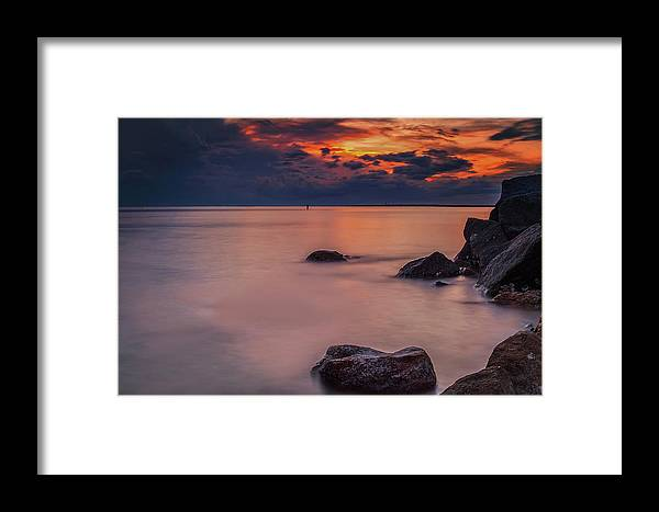 Fred Howard Island Framed Print featuring the photograph Island Retreat by Todd Rogers