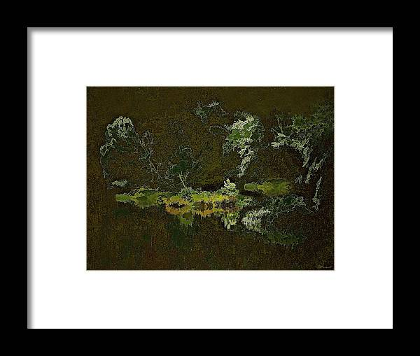 Impressionism Framed Print featuring the photograph Island Solitude 01 by Frank Maxwell