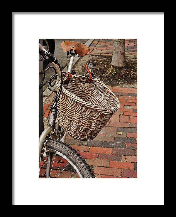 Bike Framed Print featuring the photograph Island Transportation 008 by JAMART Photography