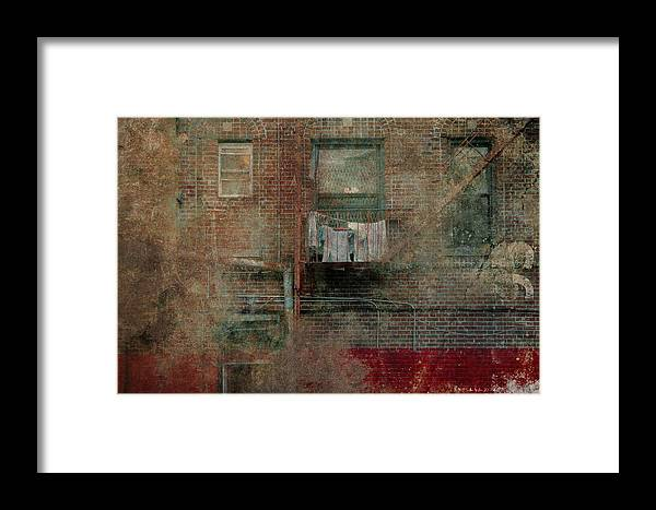 Building Framed Print featuring the photograph Islands Of Memory by Inesa Kayuta