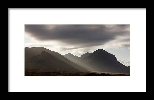 Scotland Framed Print featuring the photograph Isle Of Skye Blaven And Marsco by John McKinlay
