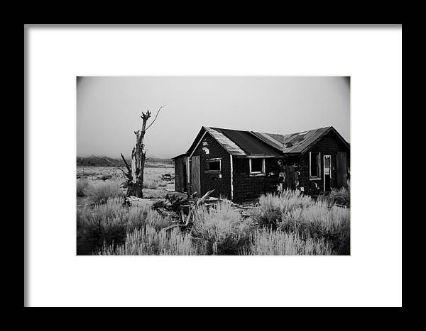 House Framed Print featuring the photograph Isolation by Jessica Roth