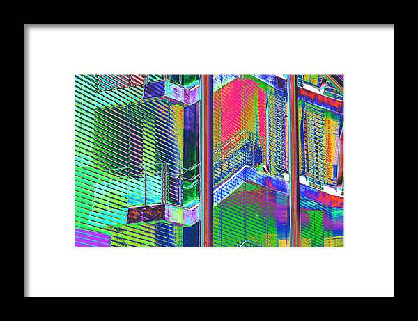 Building Framed Print featuring the photograph Istb1 by Richard Henne