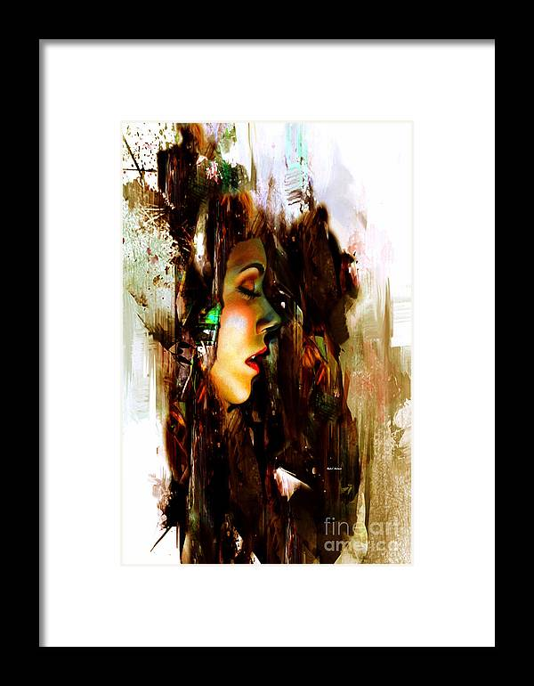 It Is Just A Dream Framed Print featuring the digital art It Is Just A Dream by Rafael Salazar