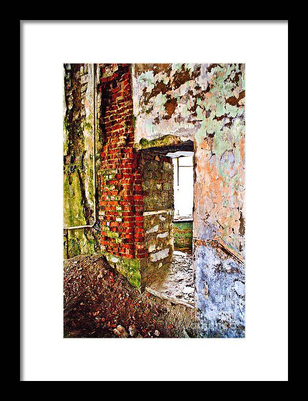 Wall Framed Print featuring the photograph It Is More Than Color Than Usually by Vadim Grabbe