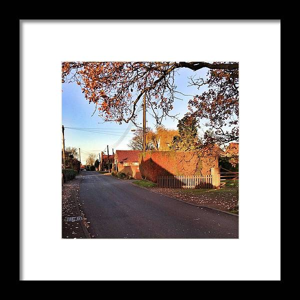 Kingslynn Framed Print featuring the photograph It Looks Like We've Found Our New Home by John Edwards