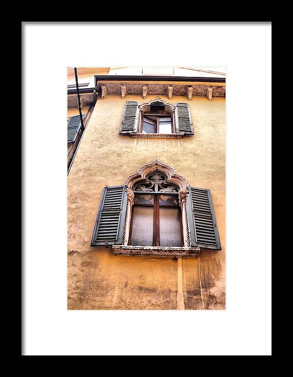 Italy Framed Print featuring the photograph Italian Architecture by Greg Sharpe