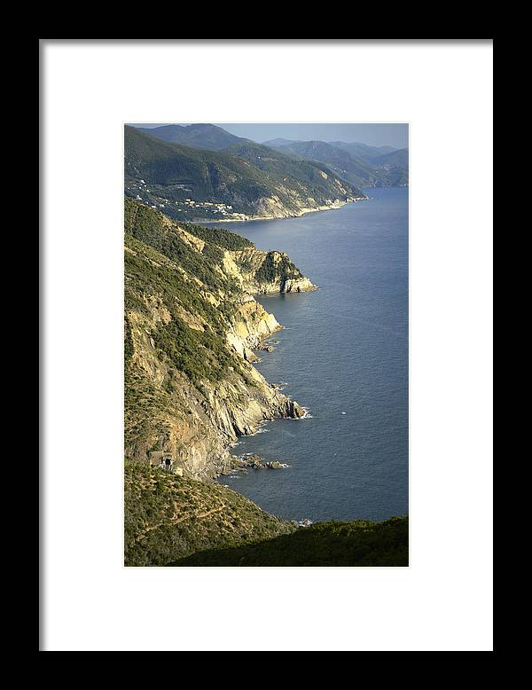 Italian Coast Framed Print featuring the photograph Italian Coast by Andrea Gabrieli