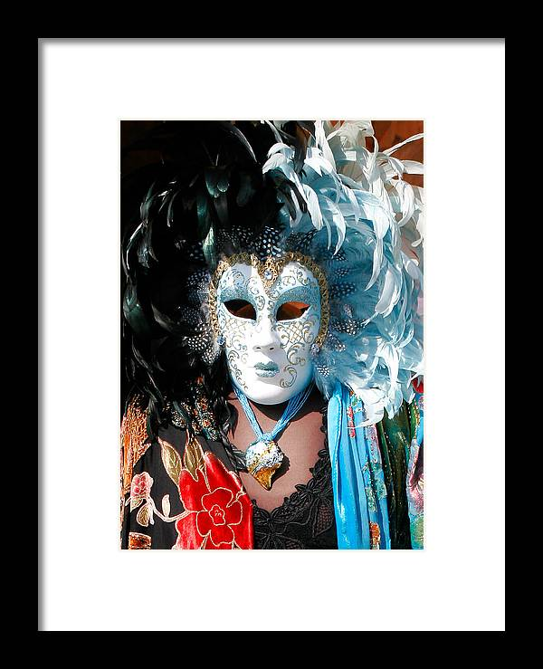 Venice Framed Print featuring the photograph Italian Mask by Carl Jackson