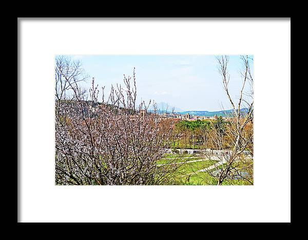 Italy Framed Print featuring the photograph Italy In Spring by HazelPhoto