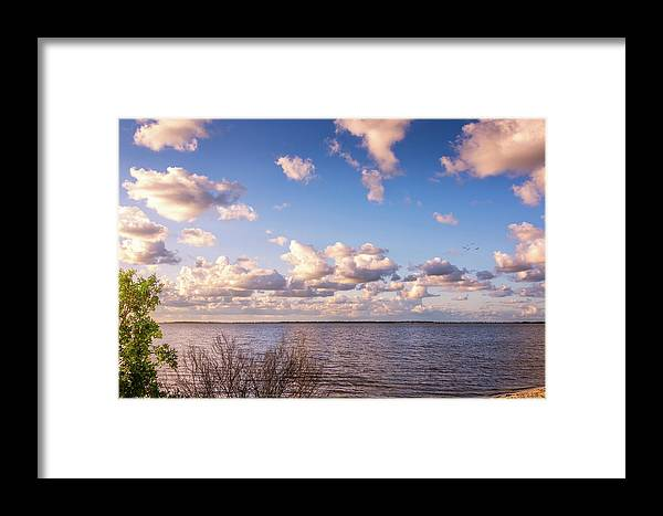 Florida Framed Print featuring the photograph It's A Beautiful Day by Louise Hill
