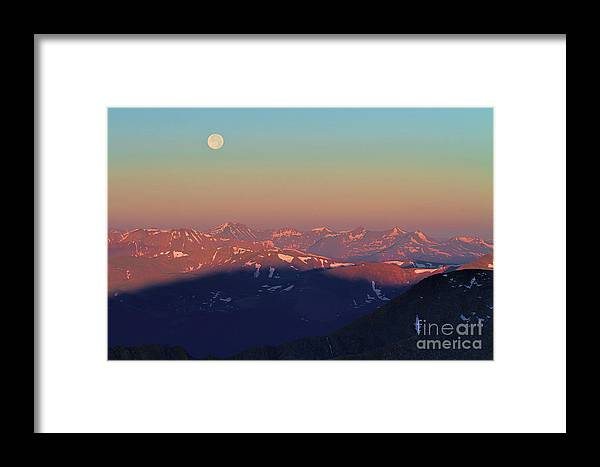 Mt. Evans Landscape Framed Print featuring the photograph It's A New Day by Jim Garrison