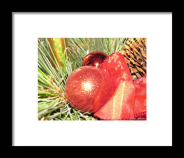 Christmas Framed Print featuring the photograph Its A Wonderful Christmas Time by Luana Juknies