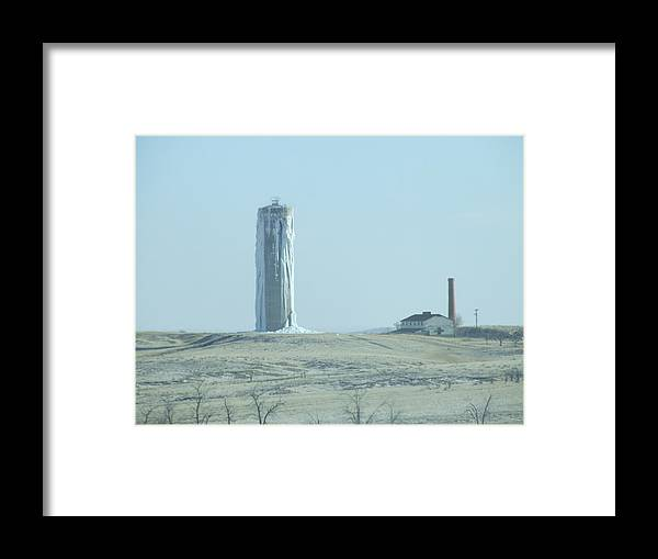 Water Framed Print featuring the photograph It's Cold Out Here by Dennis Wilkins