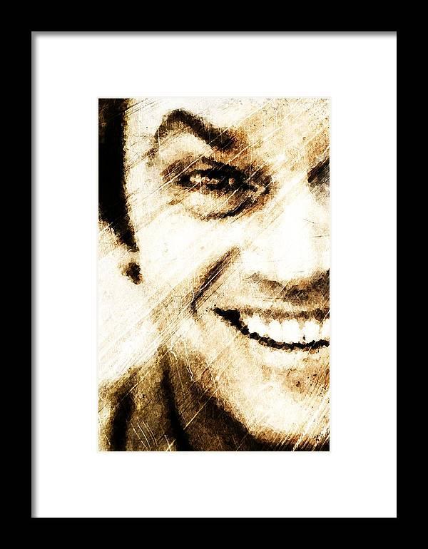 Jack Framed Print featuring the digital art Jack by Andrea Barbieri