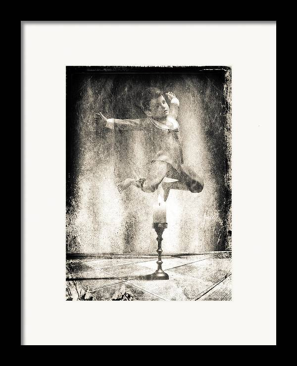 Candle Framed Print featuring the photograph Jack Be Quick by Bob Orsillo
