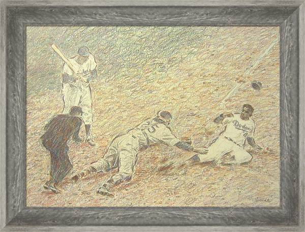 Jackie Robinson Steals Home by Scott Silvers