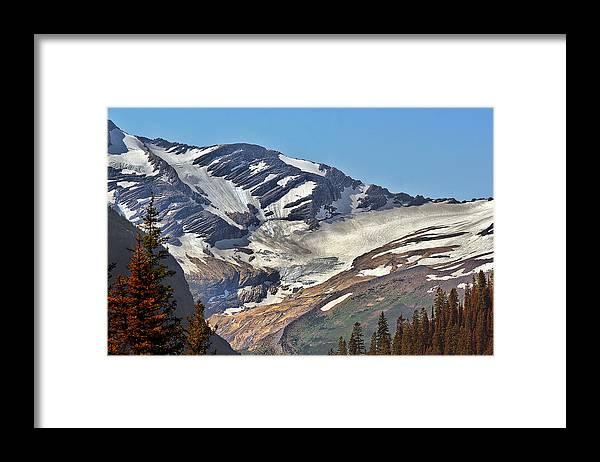 Jackson Glacier Glacier National Park Mt Framed Print By Christine Till