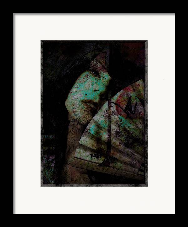 Asian Framed Print featuring the photograph Jade by Adam Kissel