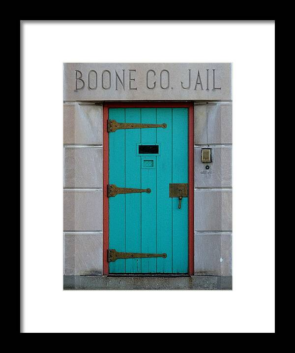 Still Life Framed Print featuring the photograph Jail For Sale by Ed Smith