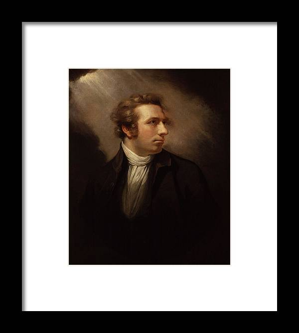 Henry Fuseli Framed Print featuring the painting James Northcote by Henry Fuseli