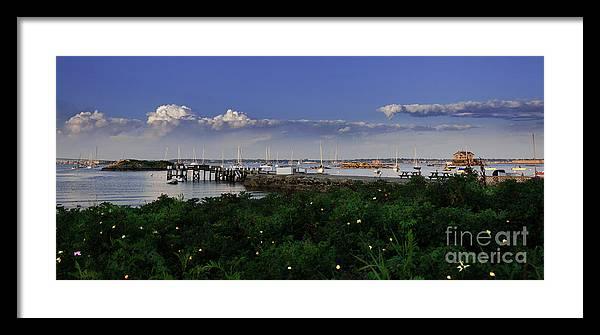 Rhode Island Framed Print featuring the photograph Jamestown, Rhode Island by Alex Arig