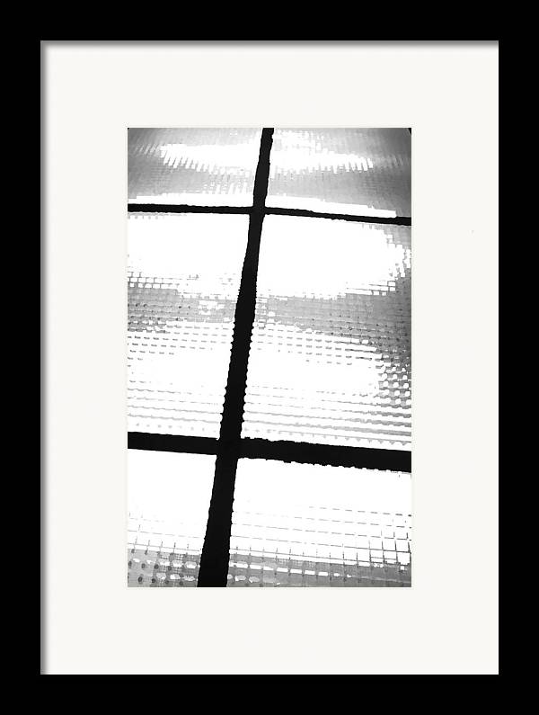 Light Framed Print featuring the photograph January 7 by Angela Siener
