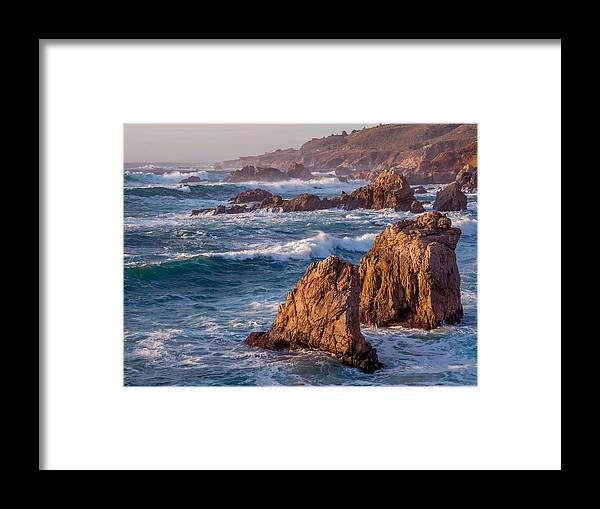 January Framed Print featuring the photograph January In Big Sur by Derek Dean